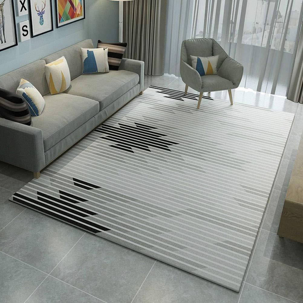 LUYION- Nordic einfache geometrische Teppich Wohnzimmer Sofa Teppich Teppich Couchtisch Matte Schlafzimmer Haus-Matte,c,200x300cm B07L4N126Z Teppiche