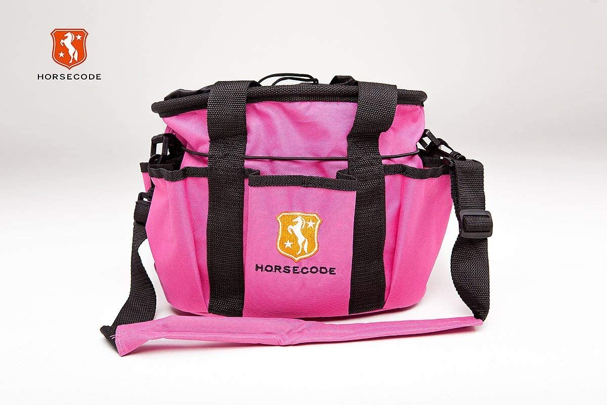 Horsecode Putztasche mit Inhalt 10-teilig Hot Pink