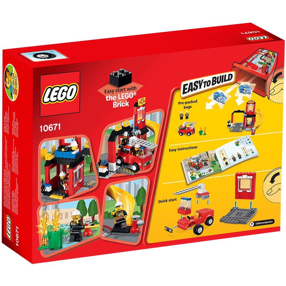Lego Juniors 10671 Fire Emergency Amazon Toys Games