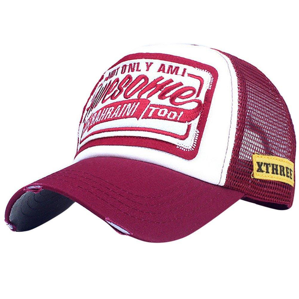 Unisex Men Women Baseball Caps Adjustable Embroidered Letter Low Profile Cap Hat XGao Baseball Hats for Women B