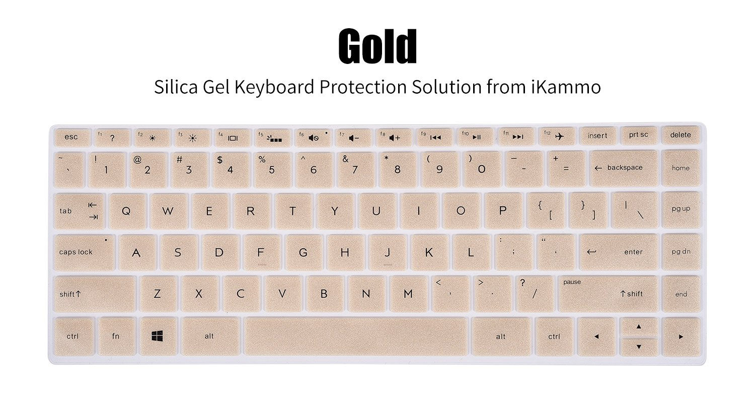Gold 15.6 HP Spectre x360 15t 15-ap 15-bl Series Compatible Models in The Description Page Keyboard Silicone Skin Compatible 13.3 HP Spectre x360 13-ac 13t-ac 13-ae 13-w