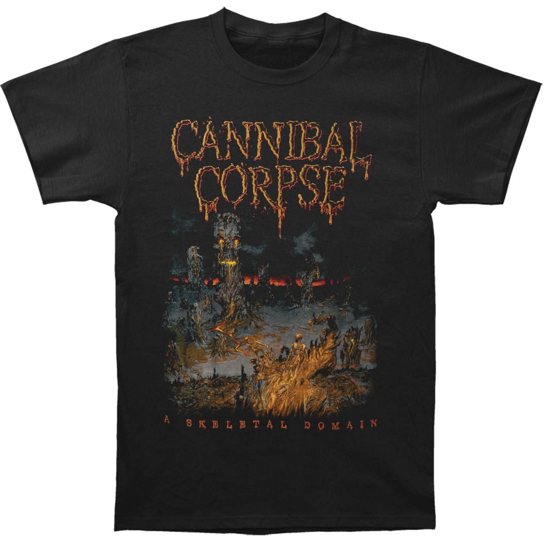 Cannibal Corpse Men's Skeletal Summer Tour 2016 T-shirt XXX-Large Black