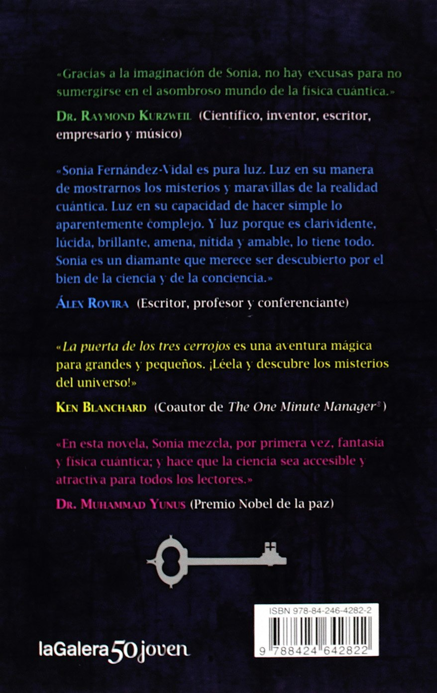 La Puerta De Los Tres Cerrojos (La Galera joven): Amazon.es: Sonia  Fernández-Vidal, Oriol Malet: Libros