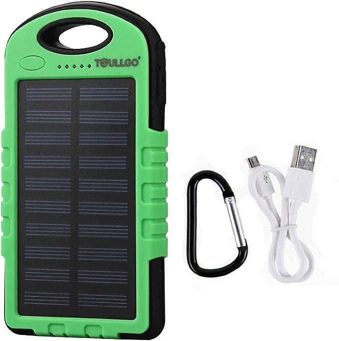 Solar Charger, Solar Power Bank 10000mAh, Solar Battery