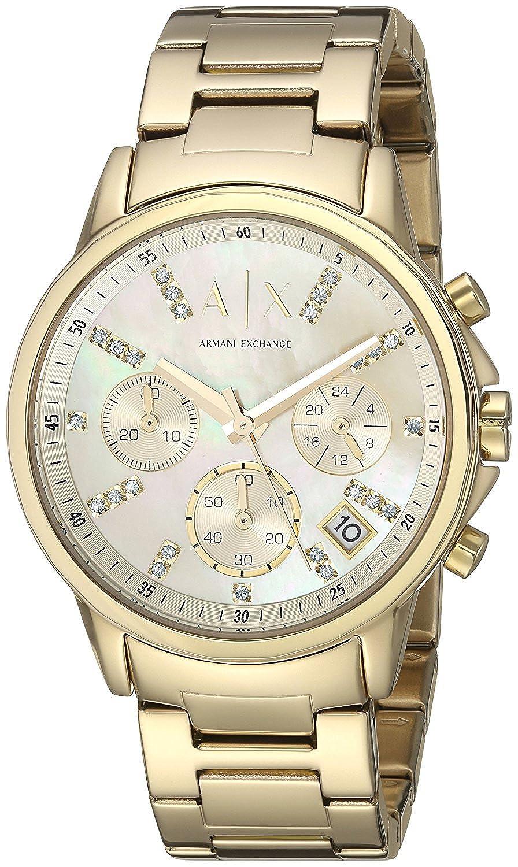 [アルマーニエクスチェンジ]ARMANI EXCHANGE 腕時計 ウォッチ AX4327 ゴールド レディース [並行輸入品] B07BFRY9CD