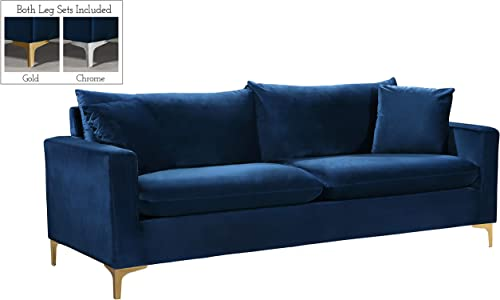 Meridian Furniture Naomi Collection 1 Modern | Contemporary Velvet Upholstered Sofa Review