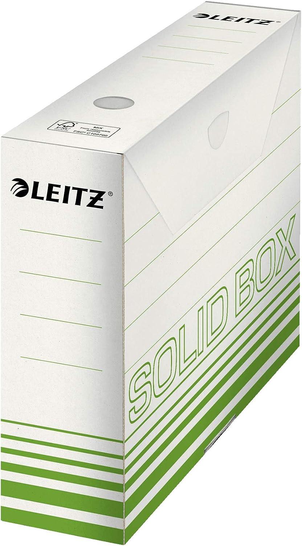 Esselte Leitz Archivbox Solid Wellpappe 80mm hellgr/ün