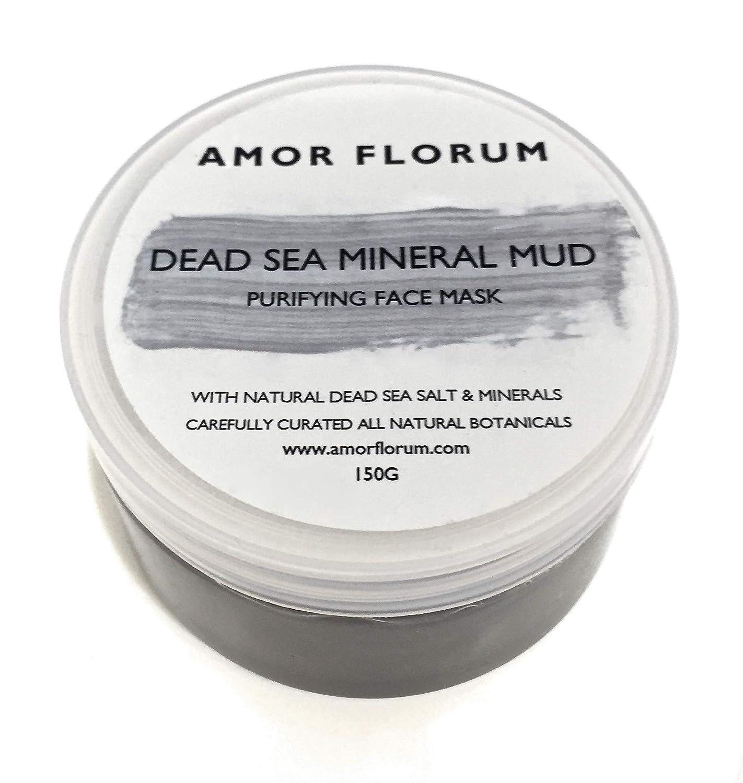 BARRO MINERAL DEL MAR MUERTO - MÁSCARA PURIFICANTE - 150 g - por AMOR FLORUM. Barro de grado cosmético limpia y elimina las impurezas de la piel, ...
