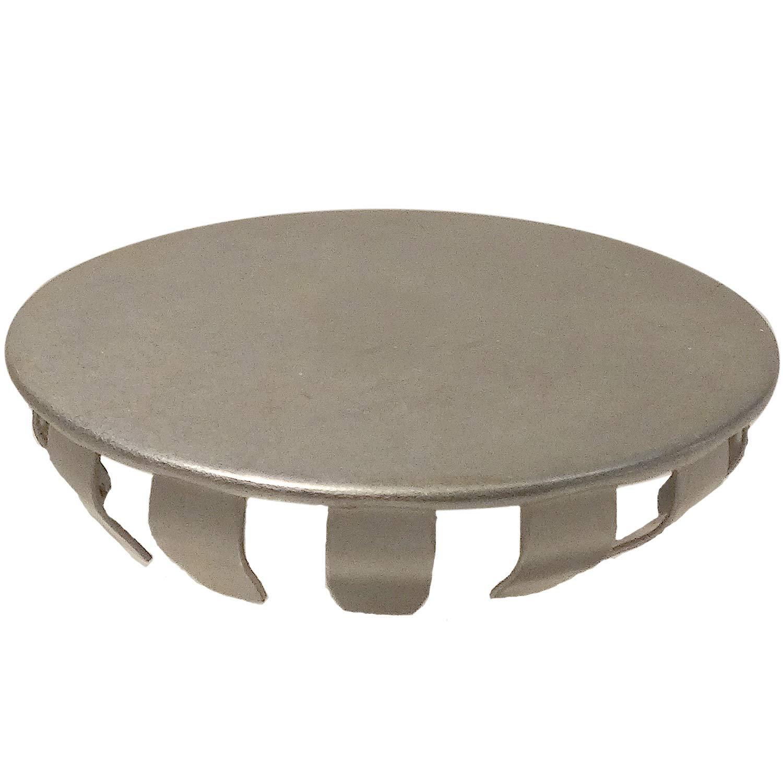 Standard Hole Plug - Fits 1-1/2'' Hole, Steel Nickel Plated, 150 pcs (D3632S)