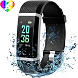 Mpow Fitness Tracker, Heart Rate Monitor Smart Bracelet Activity Tracker Bluetooth Pedometer with Sleep Monitor Smartwatch for iPhone Samsung and Other Android or iOS Smartphone