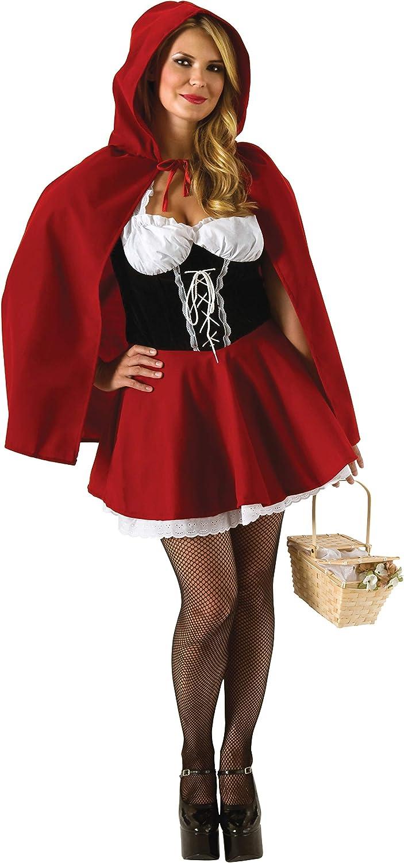 Rubies Disfraz de Caperucita Roja, para Mujer, Talla Grande ...