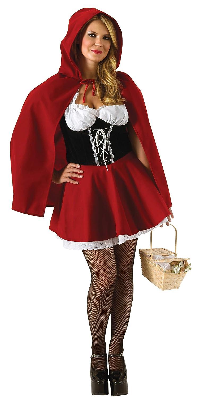 Secret Wishes Full Figure Red Riding Hood Costume