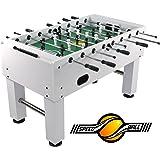 Speed ball tavolo Premium calcio balilla tavolo in versione da gara professionale - Limited bianco