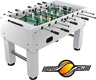 Speed ball tavolo Premium calcio balilla tavolo in versione da gara professionale - Limited bianco Speedball