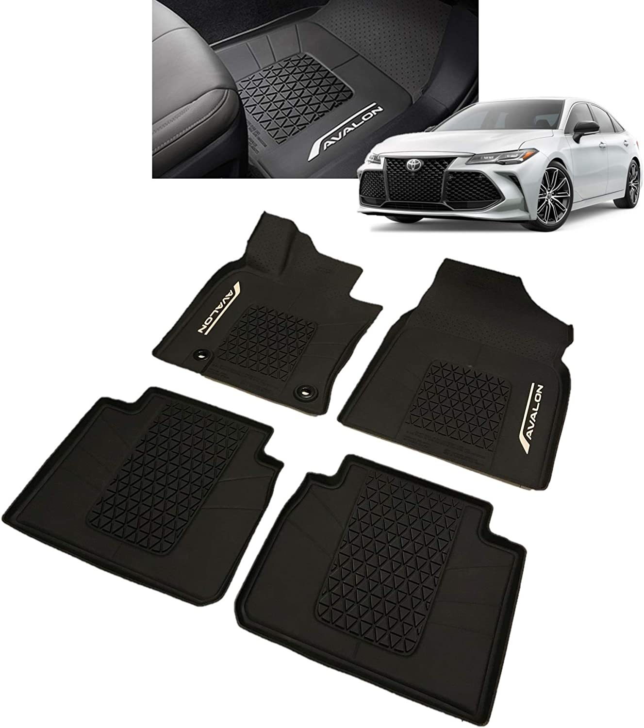 Car Floor Mat For Toyota Avalon 2007-2020 Non toxic and inodorous