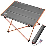 Terra Hiker Hiking Table, 30s Quick Assembly, 800g Ultralight Camping Table