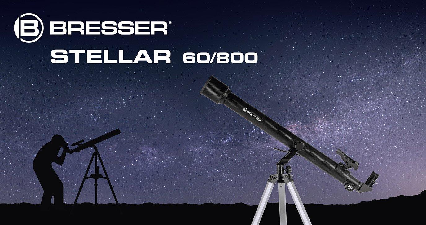 Bresser refraktor teleskop stellar 60: amazon.de: kamera