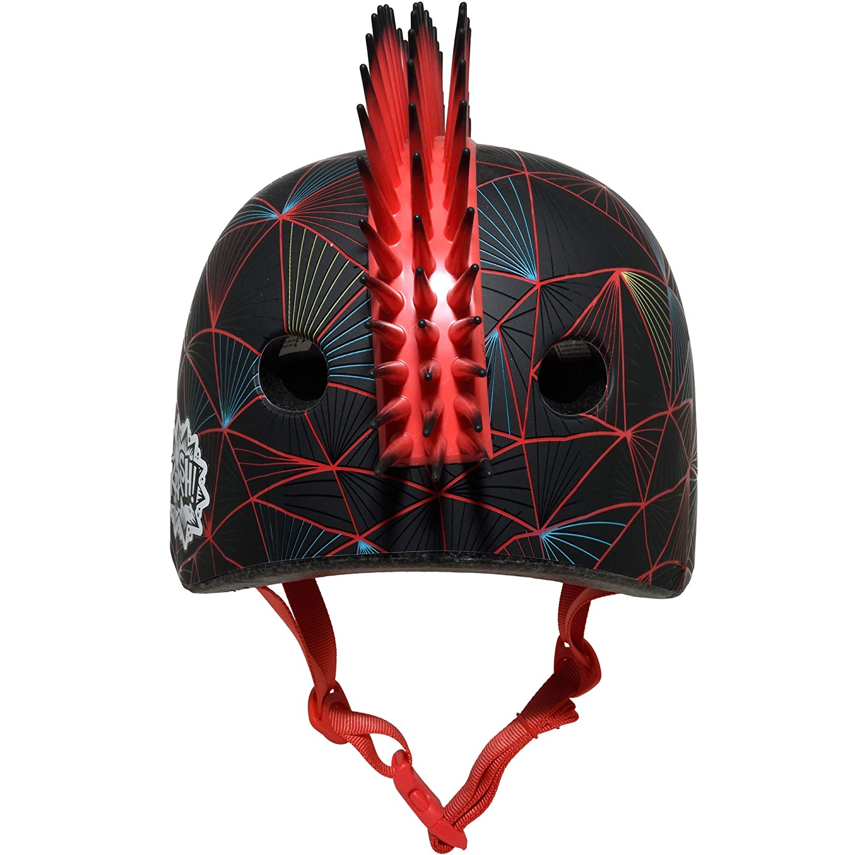 C-Preme Niños KRASH Vector Victor bicicleta casco, Black, One size: Amazon.es: Deportes y aire libre