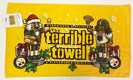 de779f30 Pittsburgh Steelers Terrible Towel Christmas Holiday Nutcracker edition -  New with Tags