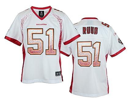Amazon.com   Reebok NFL Womens Tampa Bay Buccaneers Barrett Ruud  51 ... aa20973b61