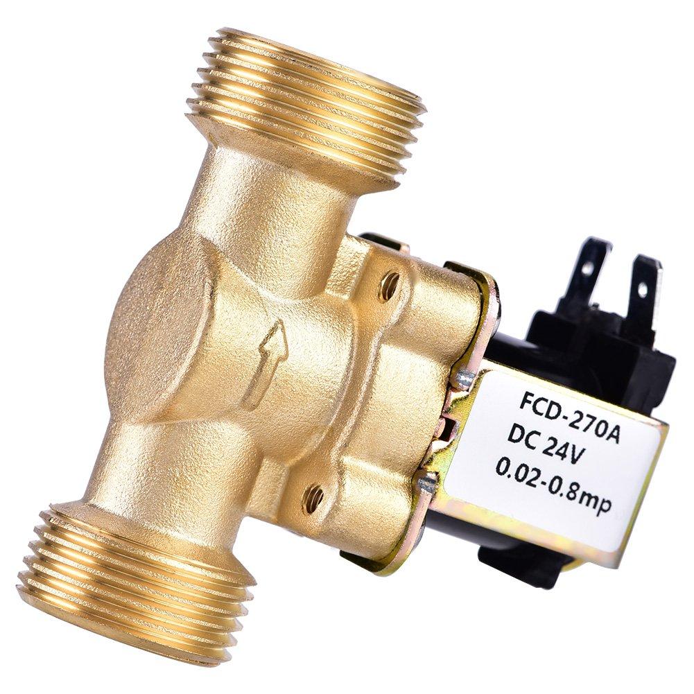 SoarUp - Válvula solenoide eléctrica para control de agua (3/4