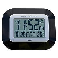 Radio Controlled LCD Wall Mountable and Desk Clock ( UK & Ireland Version ) Jumbo LCD