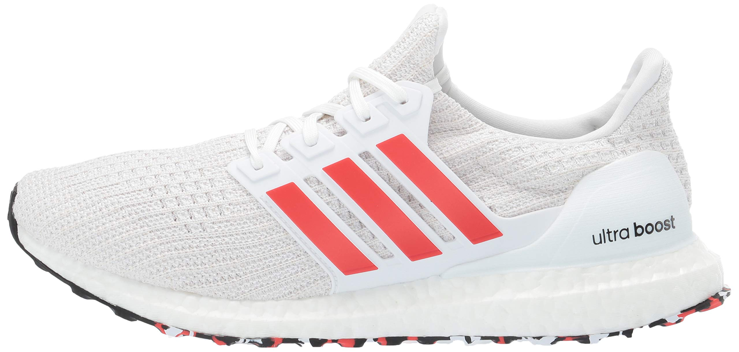 adidas Men's Ultraboost, Active red/Chalk White, 4 M US by adidas (Image #5)