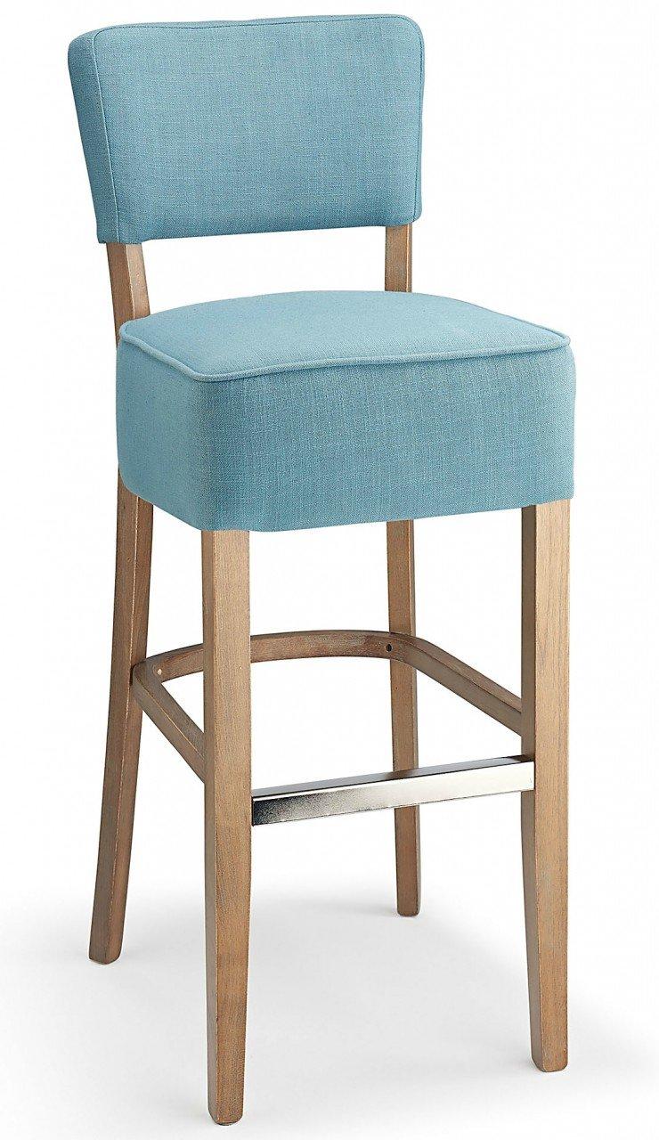 Genova Fabric Bar Stool Teal: Amazon.co.uk: Kitchen & Home