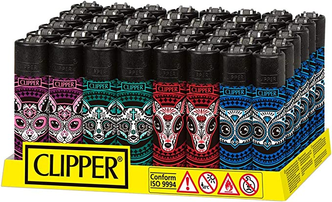 1x Mechero Clipper Muerta Animals (CP11R): Amazon.es: Hogar