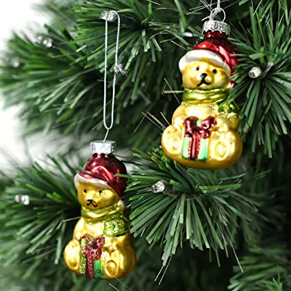 Amazoncom Newdreamworld Christmas Decorations Pack Of 2 Hand