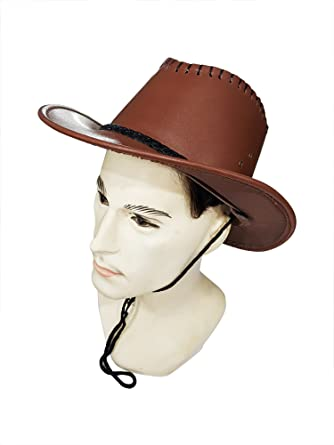 Kabello Fedora Hat Fedora Caps Trilby Hats for Men   Women - Leather Fedora d6e8830b383