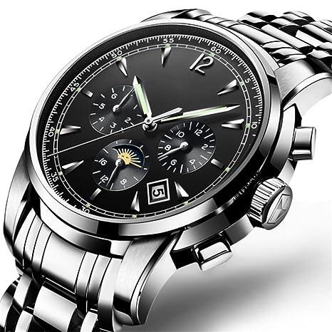 GAOY Watch Relojes Reloj Para Hombres Completamente Automático Deporte Maquinaria Impermeable Moda Luminoso Relojes De Acero