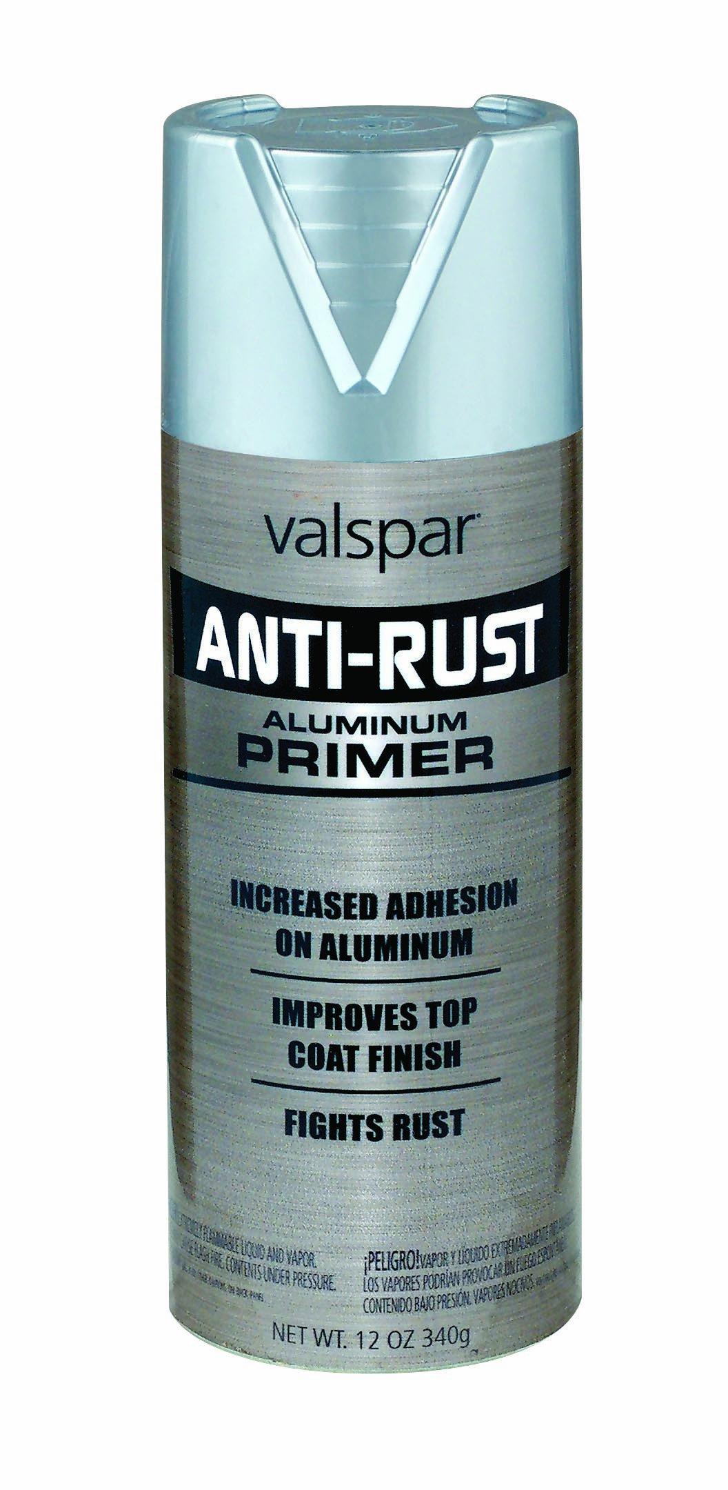 Valspar (68225-6PK) Aluminum Primer Enamel - 12 oz., (Pack of 6) by Valspar