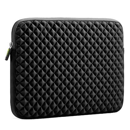 Amazon.com: Evecase Diamond Foam Splash & Shock Resistant Neoprene Sleeve Notebook Case Bag for Dell Inspiron 15.6inch / Dell XPS 15 Laptop Chromebook- ...