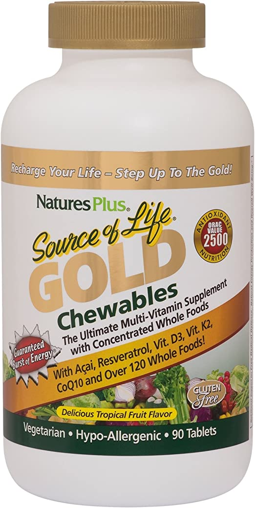 Natures Plus Source Of Life Tablets 90'S