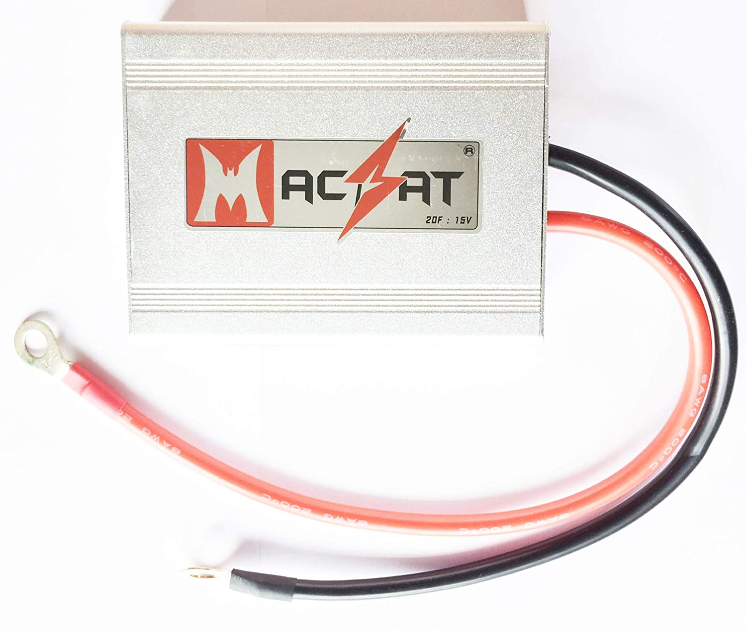 Amazon.com: SUPER CAPACITOR MODULE PACK BATTERY BOOSTER AUDIO CAPACITOR 20F  15V: Cell Phones & Accessories