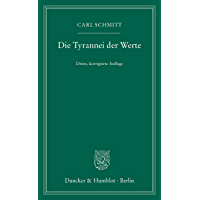 Die Tyrannei der Werte. (German Edition) book cover