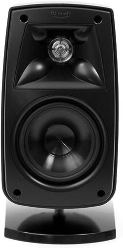 Klipsch Quintet Satellite Bookshelf Speaker Single, Black HG Discontinued by Manufacturer
