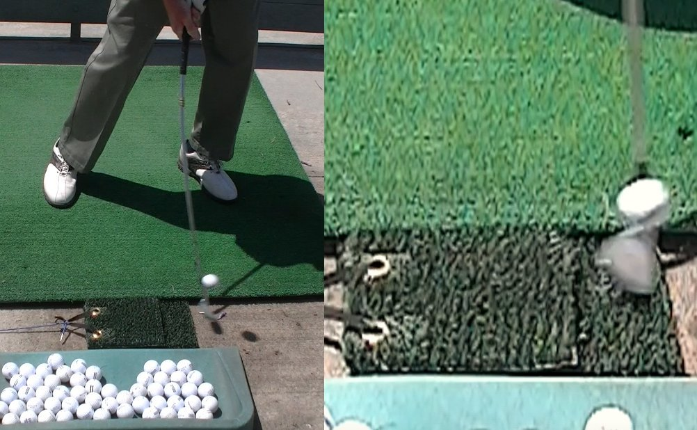 Amazon.com: Don brosseau Dr B portátil de golf alfombrilla ...