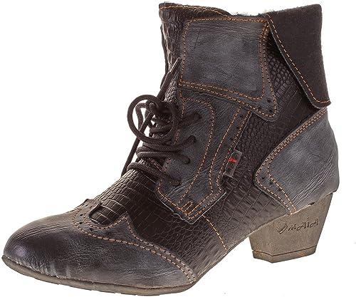 TMA Damen Stiefel Stiefeletten Boots Sale Gefüttert
