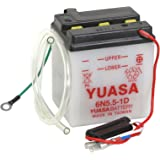 amazon com honda ct70 ct 70 wiring harness ko hko oem replacement yuasa yuam2655b 6n5 5 1d battery