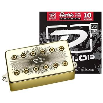 DIMARZIO edición especial Velorum dp265 F gravedad Storm guitarra eléctrica Puente Pickup W/Cuerdas: Amazon.es: Instrumentos musicales
