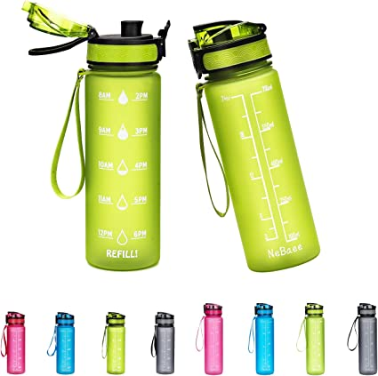 Baomay Sports bouteille d/'eau 1 l Tritan les adultes//enfants Bouteille d/'eau avec filtre