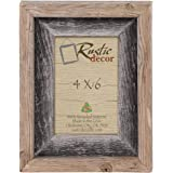 4x6 picture frames signature barnwood reclaimed wood photo frames