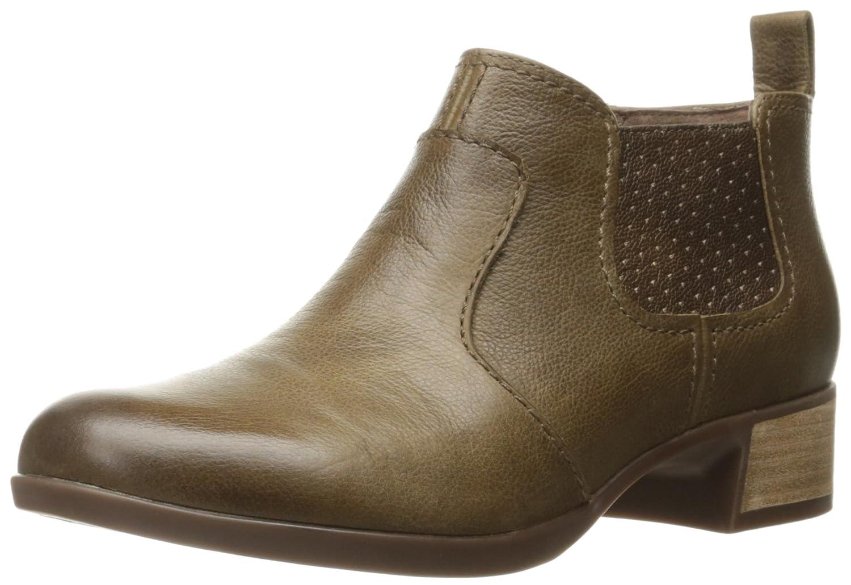 Dansko Women's Lola Ankle Bootie B01A0511AM 37 EU/6.5-7 M US|Taupe Burnished Nappa