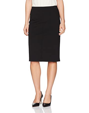 ef9a29397630 Ruby Rd. Women's Petite Pull-on Stretch Ponte Pencil Skirt