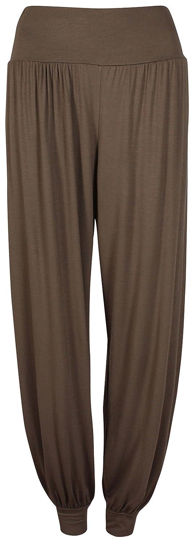 PurpleHanger Women's Harem Baggy Pants Leggings Plus Size