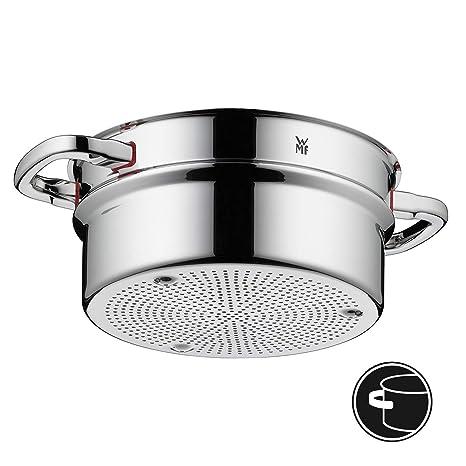 WMF Premium One Interior para cocción al Vapor, Acero Inoxidable Pulido, 24 cm