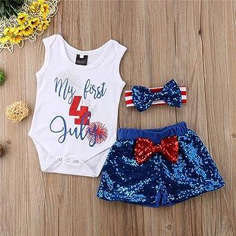 oklady 2PC Newborn Baby Girls Clothes Set Plain Rib Stitch Short Sleeve Top Shorts Outfits
