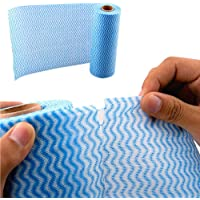 Multipurpose Reusable Kitchen Cleaning Towels/Dish Cleaning Cloths, Eco-Friendly Non-Woven Fabric 50 Sheet/rool